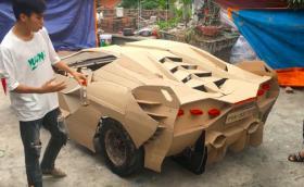 Направи си сам вкъщи: Lambo Aventador, Bugatti Chiron и други за по 100 долара. Много видео