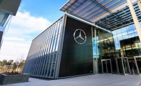Mercedes каза на служителите си в тази чудесна сграда да работят от вкъщи до края на годината... поне