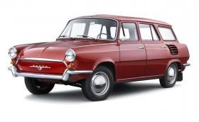 Тази Skoda има два багажника, мотор отзад и е произведена само в един екземпляр