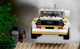 Да пресъздадеш култови моменти от Group B с Audi Quattro… от Lego