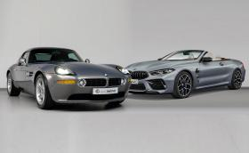 Това 18-годишно BMW Z8 или новото M8 Competition? Второто е по-евтино