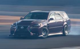 Този Lexus IS дрифт комби с 1JZ мотор е яка гледка