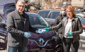 Рено Нисан България предостави автомобили за превоз на хора и материали от първа необходимост