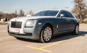 Rolls-Royce Ghost: караме призрак с 6,6 V12 и 570 коня! Видео!