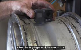GoPro в… автомобилна гума. Защо не? Видео!