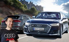 Audi S8 и SQ8: 571 к.с. и 435 к.с. от бензинов и нафтов V8! Видео!