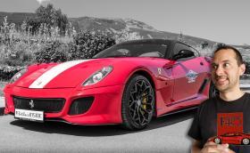 Карахме Ferrari 599 GTB Fiorano! Предно разположен атмосферен V12 с 620! Видео!