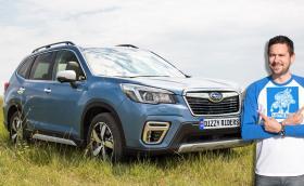 Караме новото Subaru Forester e-Boxer, първият хибрид на марката за Европа. Видео!