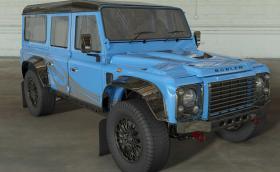 Нов живот и V8 мотор за стария Land Rover Defender