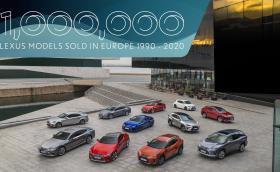 Lexus в Европа: 1 милион продажби за 30 години!