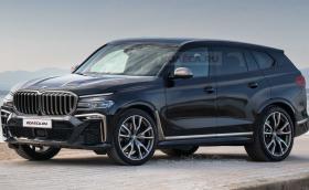 Нарисуваха BMW X8 с вдъхновение от шпионски снимки