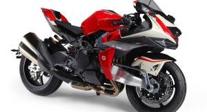 Bimota Tesi H2 е брутален мотоциклет с 242 коня и цена от 130 хил. лв.