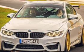 "Роберт Кубица с BMW M4 и пълна газ по ""Нюрбургринг"""