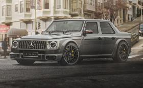 Mercedes-AMG G 63 Sedan и още 5 SUV-та, префасонирани в ниски автомобили