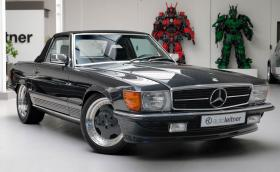 1989 Mercedes-Benz 500 SL 6.0 AMG или нов GT C Roadster с 557 коня?