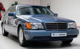 Капсула на времето: 1991 Mercedes-Benz 600 SEL на 25 хил. км и един единствен собственик