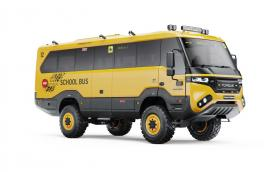Torsus Praetorian е офроуд... училищен автобус?!
