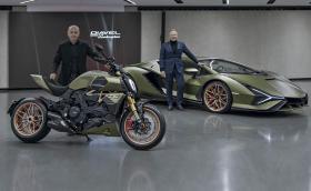 Ducati Diavel 1260 Lamborghini e мотоциклетният еквивалент на Lamborghini Siàn FKP 37
