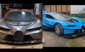 Направи си сам: Bugatti Vision Gran Turismo. Видео!
