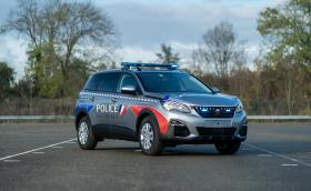 Peugeot 5008 за френската полиция