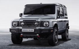 Ineos Grenadier е истинска офроуд машина с отделно шаси, твърди оси и 3-литрови мотори BMW