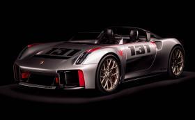 """Porsche Vision Spyder е съвременна интерпретация на… """"Малкото к*пеле"""""""