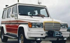 1979 Mercedes-AMG 280 GE 5.6 Sport с 300 коня, V8 и фарове от S-клас