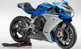 MV Agusta Superveloce Alpine e мотоциклет-изкуство, посветен на Alpine A110