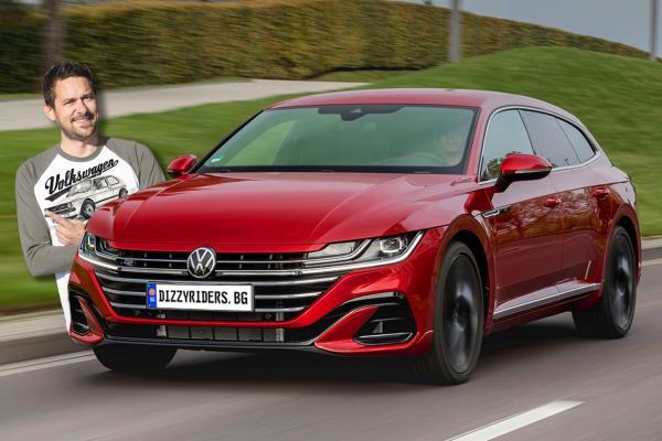 VW Arteon Shooting Brake в новото ни видео!