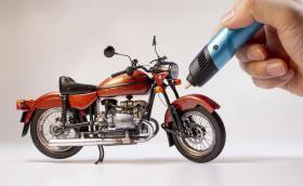 Как се прави: мотор с… 3D писалка. Изумително видео!