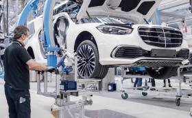 Как се произвежда новата S-класа на Mercedes-Benz? Видео