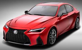 Lexus IS 500 F е нов японски седан с 5-литров атмосферен V8 и 472 коня. Ура!