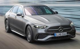 Новият Mercedes-Benz C-клас: малък S-клас, само 4-цилиндрови мотори