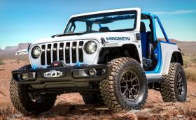 Wrangler Magneto е чисто електрически Jeep с 6-степенна механична кутия