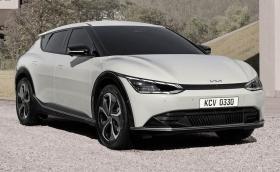 Kia EV6 e първият само електрически модел на марката. И с изцяло нов дизайн