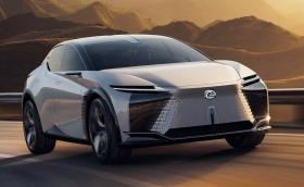 Lexus LF-Z Electrified Concept вдига 100 км/ч за 3 секунди и предлага пробег от 600 км