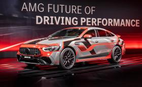 Mercedes-AMG GT 73 E Performance идва с 805 коня и вдига 100 за под 3 секунди
