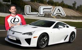 Карахме Lexus LFA! Очаквайте видео в канала ни!