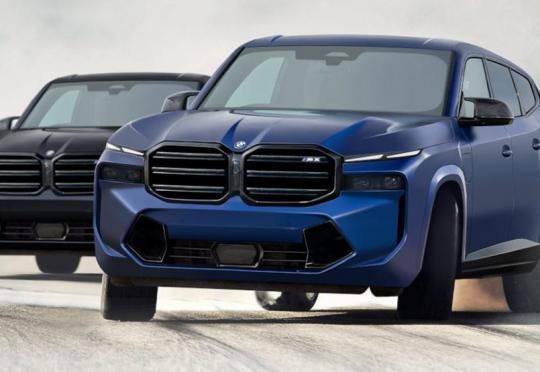 Много е вероятно BMW X8 M да изглежда така