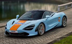 Когато McLaren и Gulf работят заедно, нещата са красиви!