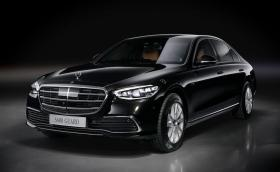 Mercedes е готов с бронираната версия на новата S-класа