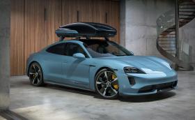 Новата кутия за багаж на Porsche е тествана при 200 км/ч