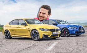 Време за драг: BMW M3 F80 VS M3 Competition G80! Видео!