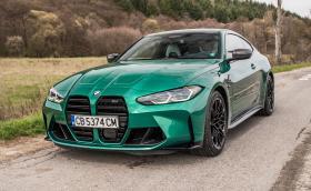 BMW M4 Competition по пътищата на България. Тест