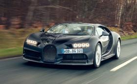 Това е най-очуканото Bugatti Chiron! Горено от изтребител и лепено с тиксо