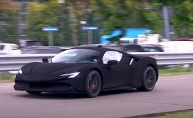 Това е най-черното Ferrari в света!