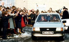 Продават Ford Escort, принадлежал на принцеса Даяна