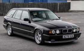 Това фалшиво 1996 BMW M5 E34 Touring е на Крис Харис и може да бъде ваше