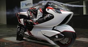 WMC250EV e ел. мотоциклет с двойно задвижване и 4 двигателя. Развива над 400 км/ч