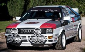 Това 1981 Audi quattro Group 4 се продава за около 300 хил. лв., колкото ново RS 6!